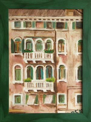 Benátky z lodi