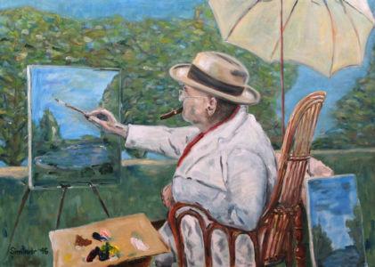 Malíř Churchill